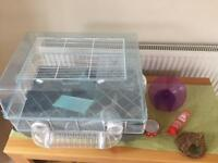 Superb Hamster Cage and Accessories