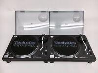 Technics SL 1200 MK5 Turntable DJ Deck Original Box x2
