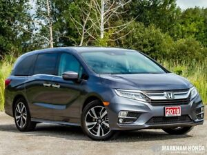 2018 Honda Odyssey Touring - ACCIDENT FREE|1OWNER|NAVI|DVD