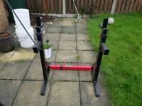 Bodymax cf315 squat rack with dipping bars