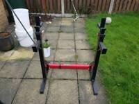 Bodymax cf315 squat rack with dipping bars