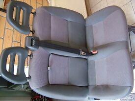 PEUGEOT BOXER DOUBLE PASSENGER SEAT 2014