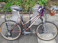 Saracen medium ladies bike