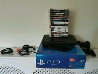 12gb PS3 and 16 games