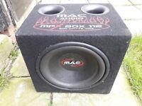 MAC audio 800w car subwoofer speaker