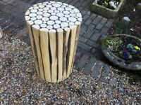 Different Wood Stands - For Plant Display Or Seat