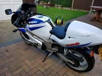 Suzuki gsxr 600 srad not 750