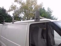 3 piece David Murphy roof racks for ford transit