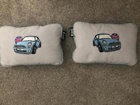 Pair of Mini car cushions