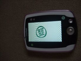 LeapFrtog Leap Pad 2 Learning Tablet Pink with three games