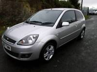 FORD FIESTA 2007, 1.2, FULL SERVICE HISTORY, ONLY ONE PREVIOUS OWNER, low insurance