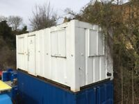 For Sale: Shipping Container Office / Welfare 20' x 8' with Anti Vandle Windows