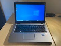HP Elitebook 820 G3 laptop. Intel Core i5-6300U, 8GB RAM, 256GB SSD, 12.5 Inch HD. Win 10