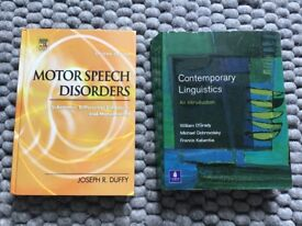 Speech And Language Therapy Textbooks