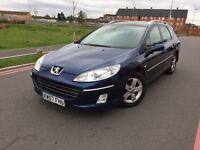 2007 Peugeot 407 2.0 hdi diesel estate full history 2 Keepers sat nav pano roof