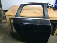Vauxhall Astra j o/s rear door black