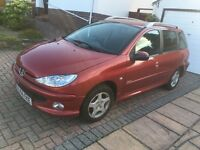Peugeot 206 Verve HDI SW (RED, 2006w