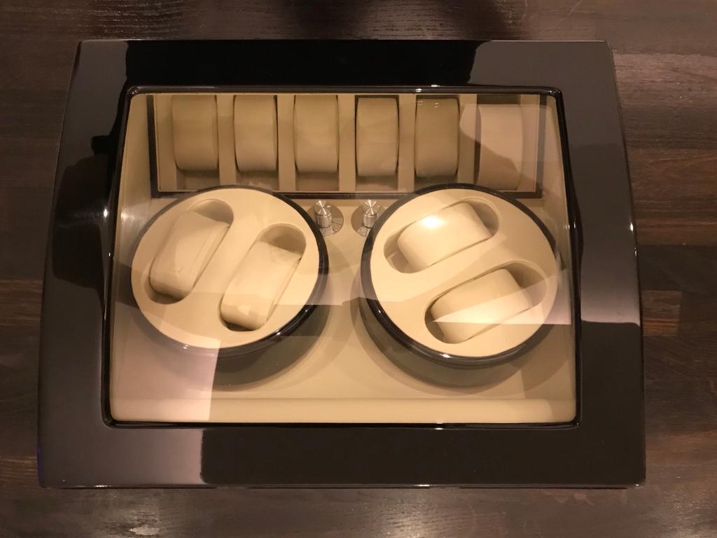 Luxury watch display case