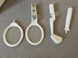 Wii controller attachments