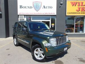 2008 Jeep Liberty LE-4X4, LEATHER, SKY-SLIDER, HEATED SEATS, ALL
