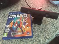 PS4 VR V2 Camera with Just Dance 2017