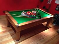 Pool Table in excellent condition. 7ft by 4ft Slate Bed.