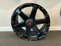 """20"""" x9 Tomahawk Chinook alloy wheels and tyres.. (6x139) Suitable for most Ford Ranger model"""