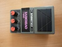 Guitar overdrive pedal