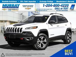 2016 Jeep Cherokee Trailhawk *Leather Seats, Heated Seats*