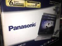 Portable Panasonic DVD Player 12v Ideal For Use in the car/camping etc