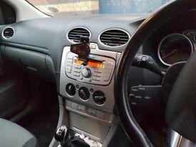 Ford Focus 1.6 Zetec 2008 73k on clock, Gun Metal Grey, ISOFIX, Parking Sensors, MOT March 2018