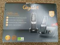 Gigaset answer machine twin phones