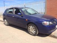 nissan almera 1.5 54 reg good condition problem with camshaft sensor once started runs all day