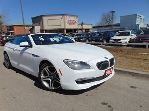 2012 BMW 650I EXECUTIVE + TECH PKG. H.U.D NAVI