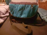 Silver cross blue changing bag