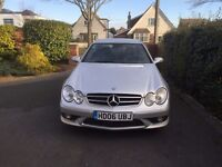 mercedes clk320 cdi sport auto amg body kit and wheels large sat nav new tyres and brake pads FSH