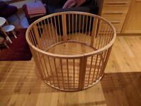 Wooden playpen for sale! High build quality and in great condition.
