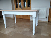 Vintage Country Farmhouse Oak Table - newly refurbished
