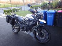 2011 tiger 800 xc - many extras