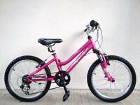 "(2723) 20"" Lightweight Aluminium RIDGEBACK HARMONY GIRLS MOUNTAIN BIKE BICYCLE; Age: 6-9, 120-135cm"