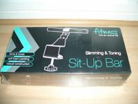Exercise Stomach Sit up bar - Ab toner - Brand new in packaging