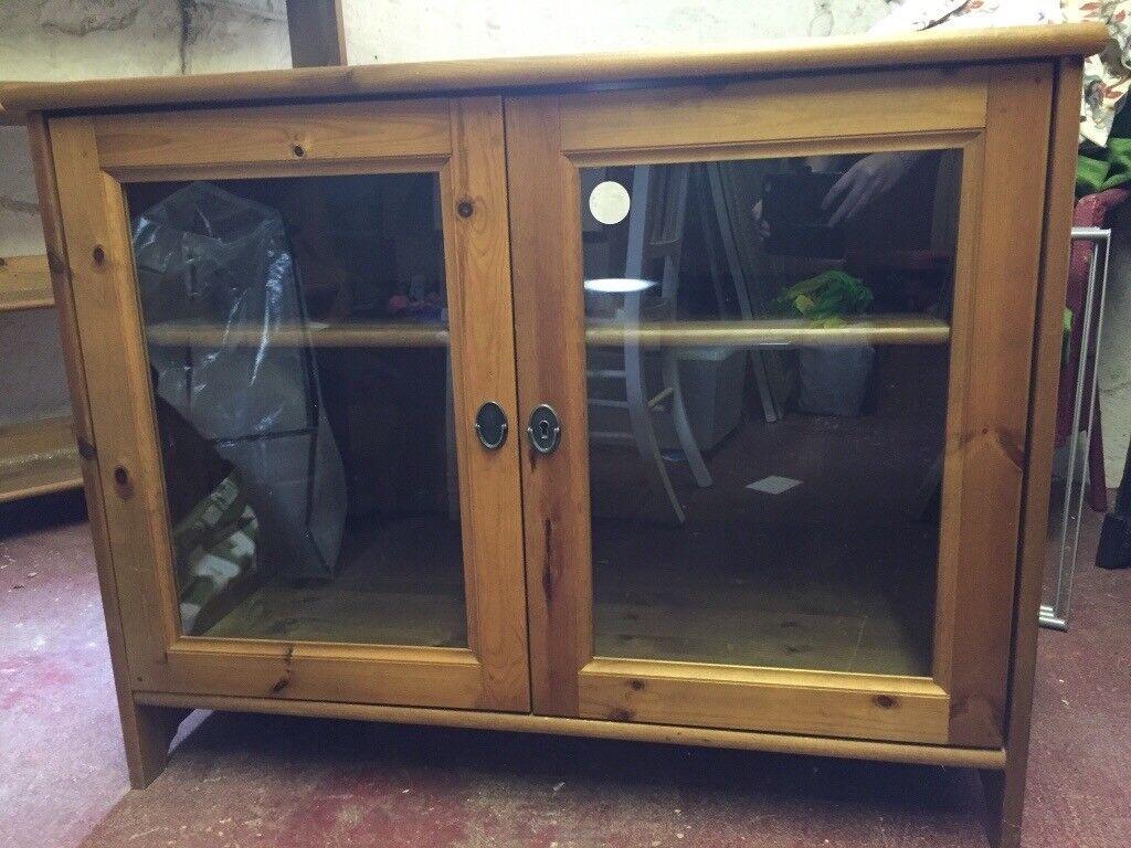 Leksvik Ikea TV unit/display cabinet