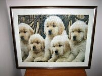 Puppy Jigsaw Picture