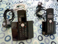 2, HOME, LAND LINE HANDSETS IN WORKING ORDER (without answering machine facility))