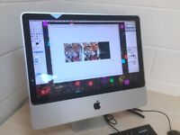 Apple iMac 20 inch OS X El Capitan, Core 2 Duo 2.4 GHz, 4GB RAM, Huge 2TB HDD Excellent Condition