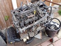 Ford transit 2.0 tddi complete engine and gearbox