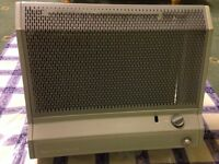 Valor Tropic Trend 2 Grey Wall Mounted Balanced Flue Gas Heater - Fully Working/Good Condition