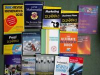 15 Uni University Business Marketing Maths etc Books