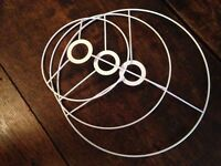 brace/ring to make lampshades