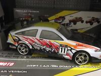 WOW 50MPH BRUSHLESS DRIFT RC RADIO CONTROLLED CAR 1/10 CLASSIC TOYOTA